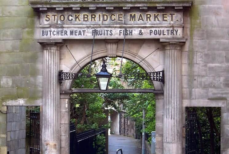 Stockbridge Market Edinburgh